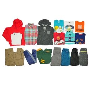 17 Pc Boys Lot Sz 4t 5t 4-5yrs Play School Outfits